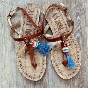 Sam & Libby sandals size 8